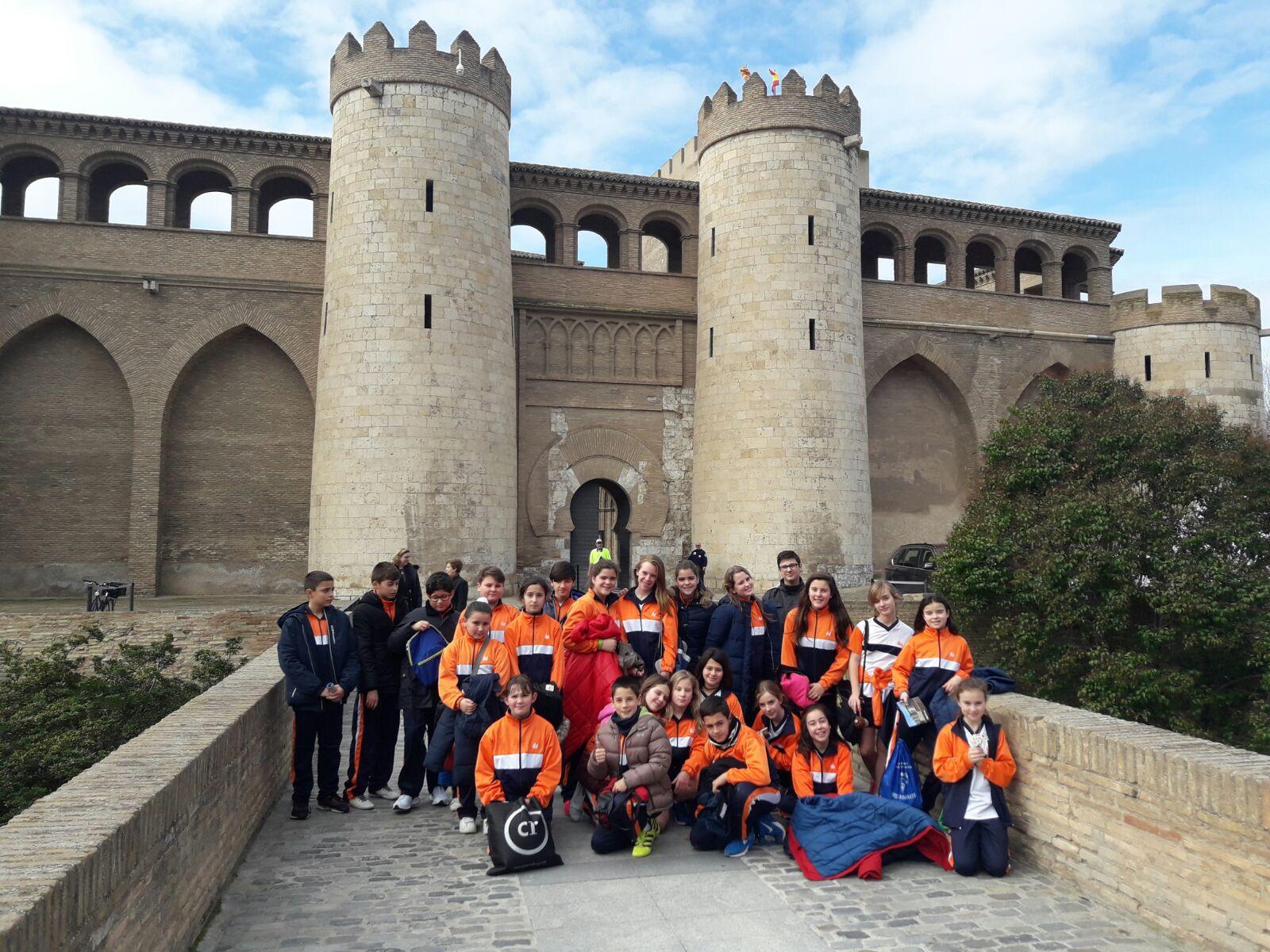 Excursión a la Aljafería y las Cortes de Aragón