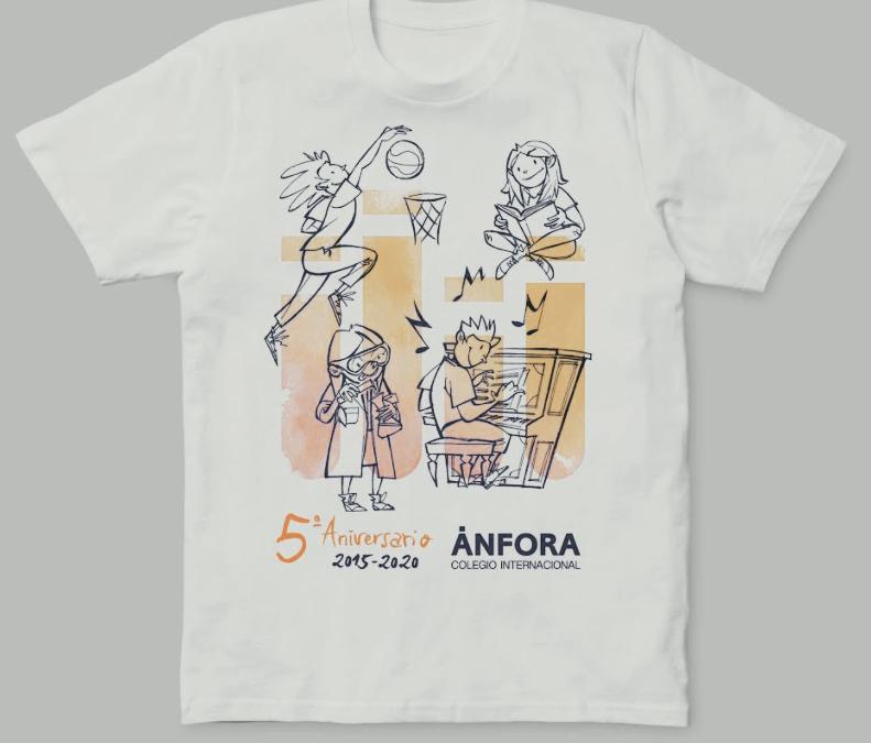 "Concurso ""Diseña tu camiseta"" – 5º Aniversario"